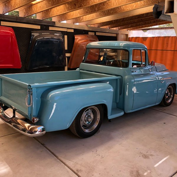 Big Window Cab - 1950 chevy truck