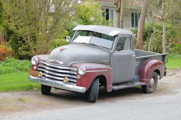 Finding a 1950's Chevy Truck for Sale